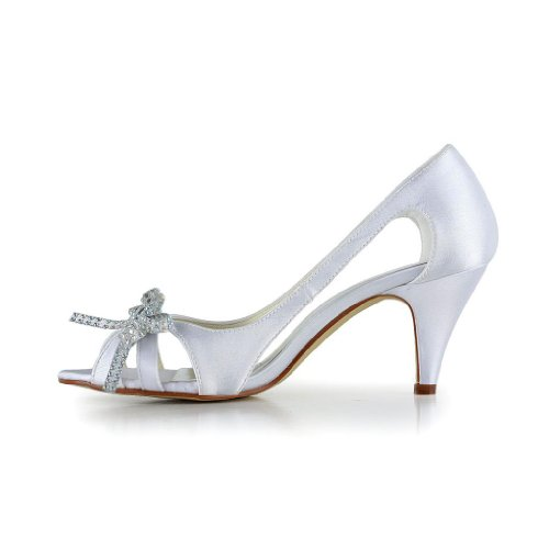 Wedding Jia femme pour mariée 5949414 mariage Blanc chaussures Jia Escarpins de rF5S8wzrq