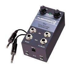 - Flightcom Model IISX Voice Activated Portable Aviation Intercom