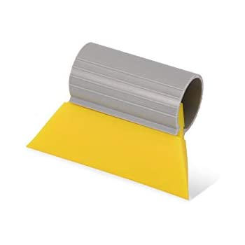 PRO Mini Turbo Squeegee,Vinyl Install Tools Car Wrapping  9.5 x 5.5cm Yellow