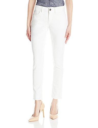 Riders by Lee Indigo Womens White Denim Skinny Jean
