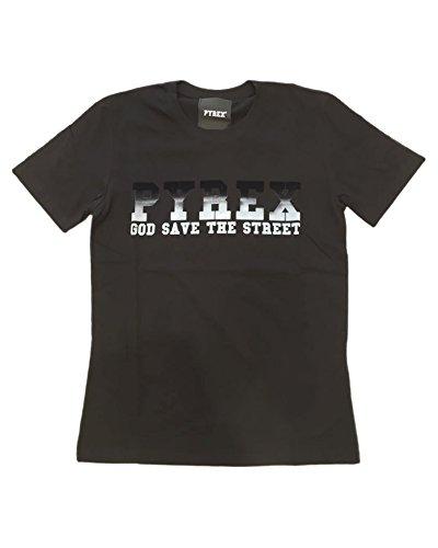Pyrex Herren T-Shirt schwarz schwarz