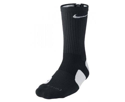 Sock White Basketball Nike Unisex Adult SMLX Crew Elite Blue qnH17Y4