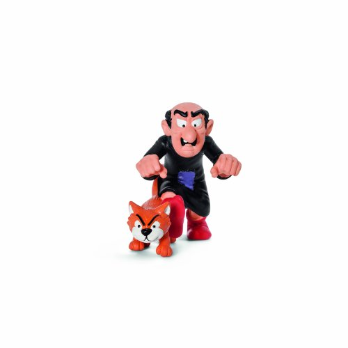 (Schleich Gargamel and Azrael Toy Figure)