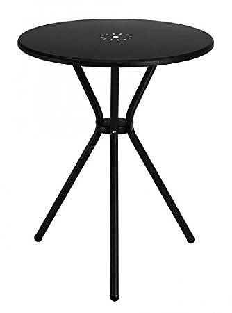 Ideapiu Tisch Aus Blech Anthrazit Durchmesser 60 Tisch Rund