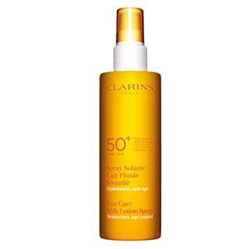 Clarins Sunscreen Care Milk-Lotion Spray SPF 50 , 5.3 oz.