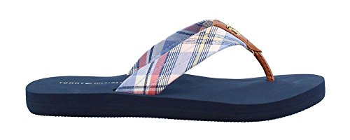 Tommy Hilfiger Women's, Camary Thong Sandals Pink Multi 9 M