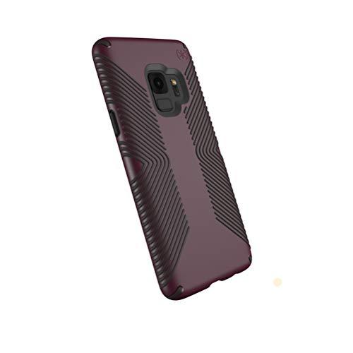 Speck Presidio Grip Samsung Galaxy S9 Case, Fig PurpleOchre