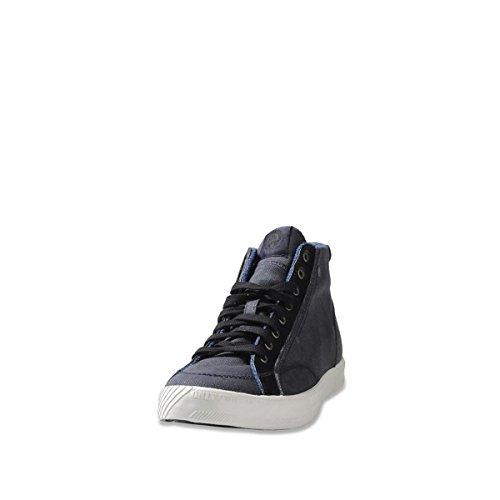 Diesel Mens D-78 Mid India Ink/Black Sneaker India Ink/Black 0CZZnF