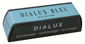 Clarik Dialux Bleu (Blue) General Purpose Metal Polishing Compound X 1 100G Bar (4Oz) by Clarik