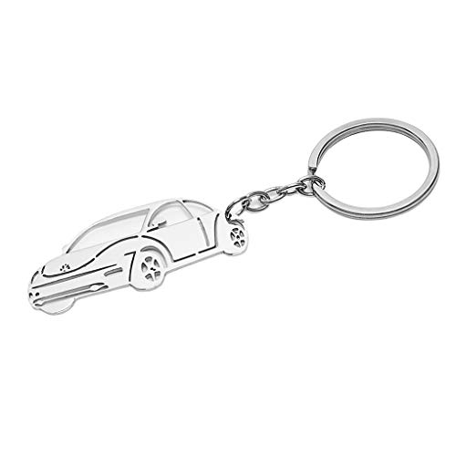 BOLLAER Luxury Key Rings Car Valet Keychain Keyring Gift for Man and Women Car Keychain for Porsche Audi Mercedes BMW Cadillac Lexus Ford