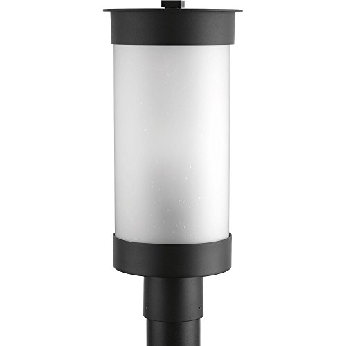 Progress Lighting P5413-31 Hawthorne One-Light Post Lantern, Black