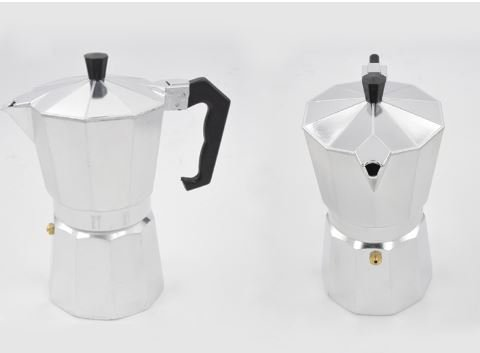9 Cups Alumnium Espresso Aluminum Moka Pot Coffee Maker M...