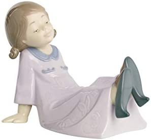 NAO Just Like Mum. Porcelain Girl Figure.