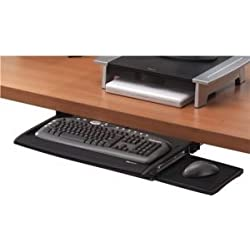 FellowesOffice Suites Underdesk Keyboard Drawer W/Microban