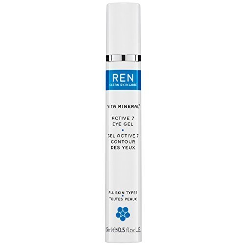 Face by REN Clean Skincare Vita Mineral Active 7 Eye Gel 15ml by REN Clean Skincare