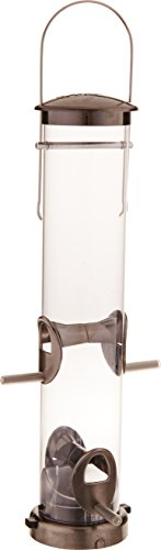 Aspects 392 Quick-Clean Seed Tube Feeder, Medium  - Brushed Nickel