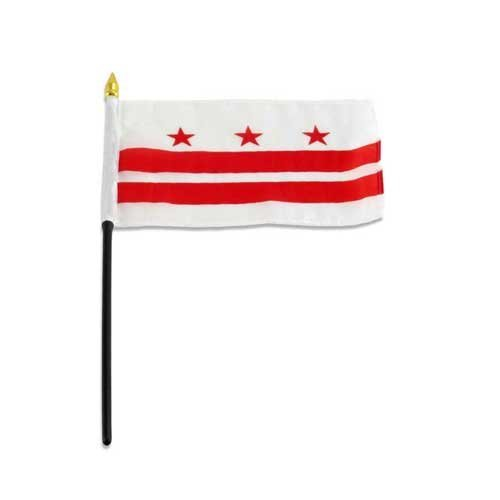 District of Columbia - Washington D.C. Flag 4 x 6 inch