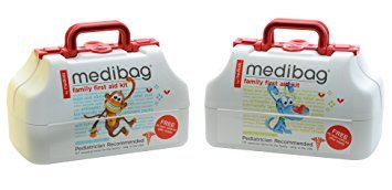 medibag 117 Piece Kid Friendly First Aid Kit for the Whole Family from Me4Kidz