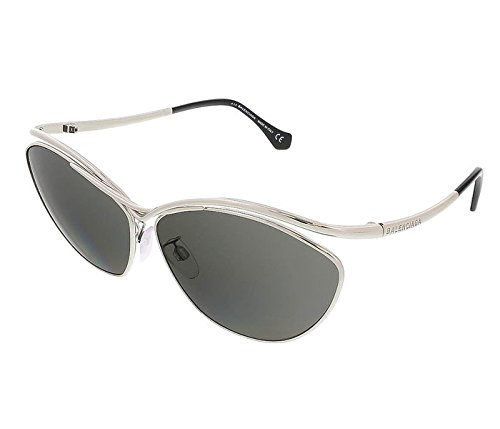 Balenciaga BA0013S 16A Silver/Black Cat Eye - Balenciaga Womens Sunglasses