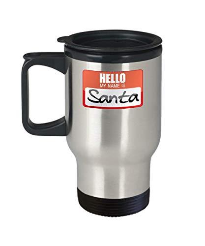 Cool Santa Claus Travel Mug Gift Idea Father Christmas Saint Nicholas Papa Noel Halloween Costume Presents Sack]()