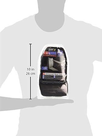 Grey Sumex Unicorn Universal Single Padded Foam Front Car Seat Cover