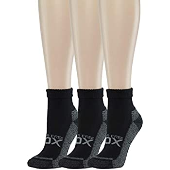 Amazon.com: Diabetic Cushioned Socks | Womens Black