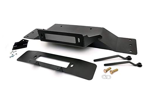 Rough Country - 1010 - Hidden Winch Mounting Plate for Ford: 09-14 F150 4WD/2WD