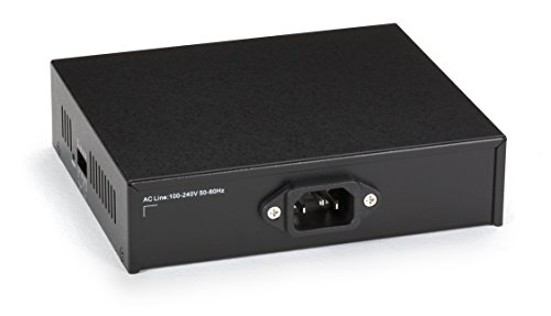 Black Box Media Converter Fast Ethernet PoE Single Mode 1300nm 20km SC by Black Box