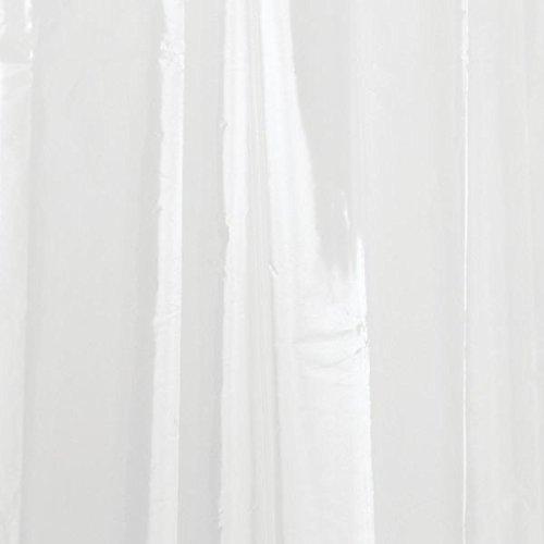 occhielli a prova di ruggine eco-friendly Nicebuty idrorepellente resistente alla muffa PEVA tenda da doccia antiscivolo 182,9/x 182,9/cm trasparente non tossici nessun odore chimico