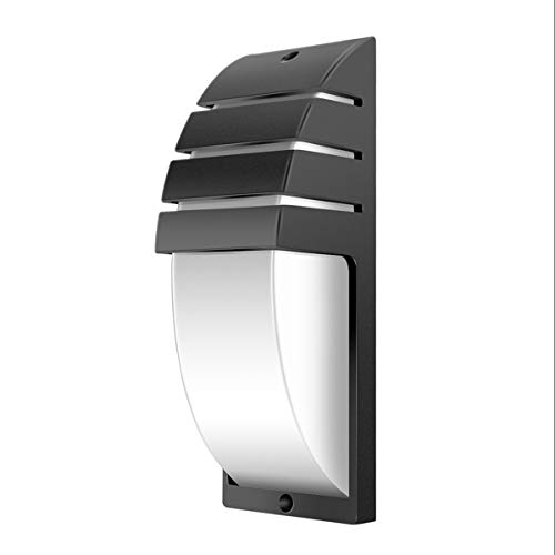 LED Wall Lamp,Sunsbell COB 8W LED Wall Light IP65 Waterproof Wall Sconce - Outdoor Wall Fixture (Cool White,6000-6500K)