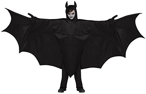 Fun World Kid's Wicked Wing Bat Children's Costume, Multicolor, One Size (Bat Costumes For Kids)