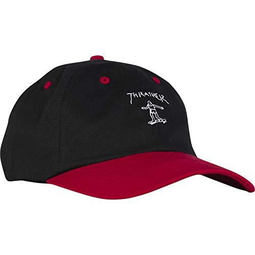Thrasher Magazine Mark Gonzales Old Timer Black/Red Hat - Adjustable (Gonzales Store)