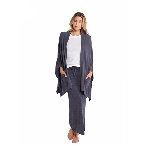 Barefoot Dreams CozyChic Ultra Lite Kimono Wrap, Pacific Blue by Barefoot Dreams