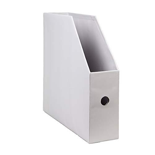 Darice 12x12 Vertical Storage: Light Smoke Gray Paper Holder,