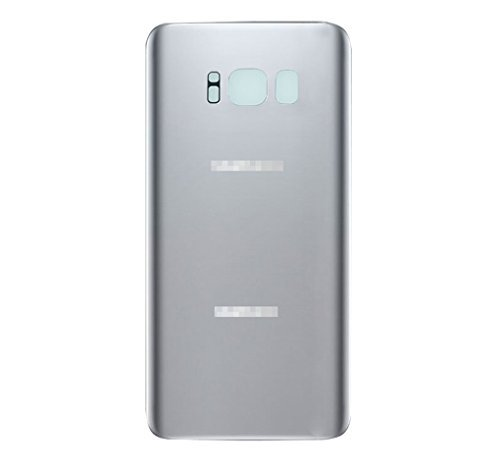 Samsung Galaxy S8+ Plus G955 Back Glass Battery Cover Rear Door Replacement USA (Silver)