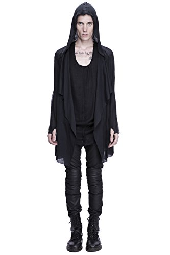 Unisex Dual Layer Draped Hoodie by Corvus + Crux