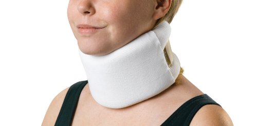 Medline Universal Serpentine Style Cervical Collars, Firm, 4 x 22 Inch
