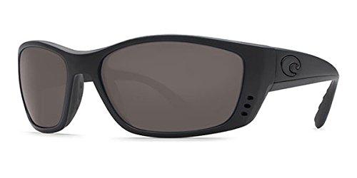 Costa Del Mar Fisch Sunglasses FS 01 OGP Blackout/Gray ()