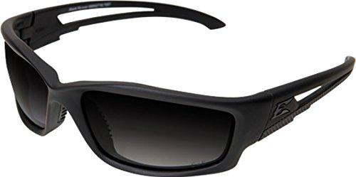 Edge Tactical Eyewear TSBRG716 Blade Runner Matte Black with Polarized Gradient Smoke ()