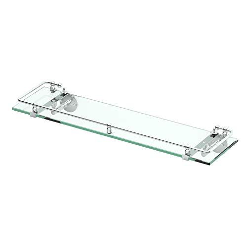 Gatco 1438C Glass Railing Shelf, Chrome