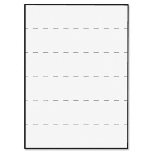 (Tabbies Transcription Label, Ruled, 5/Sheet, 8-1/2