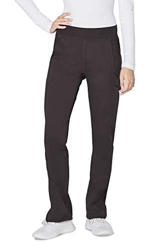 Adar Responsive Scrubs for Women - Skinny Yoga Scrub Pants - R6102 - Pewter - XL ()
