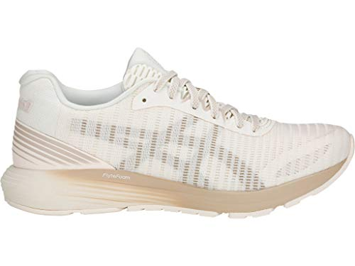 ASICS Women's Dynaflyte 3 Sound Running Shoes, 11M, Cream/Feather Grey