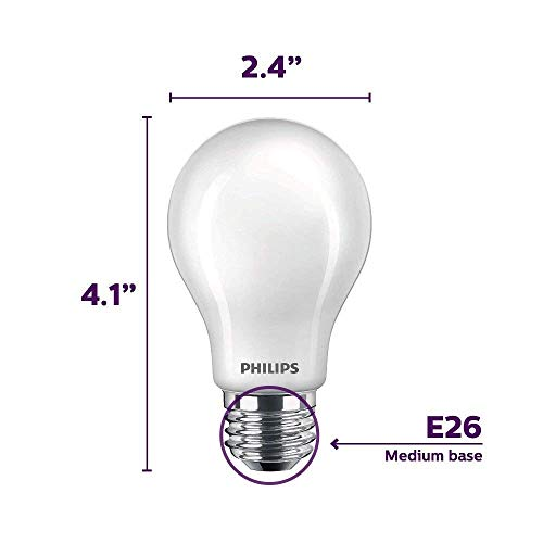 Philips 24 Pack of 545921 LED Non-Dimmable A19 Light Bulbs