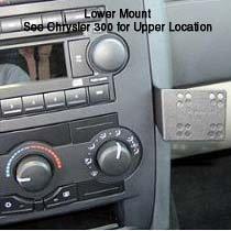 Panavise InDash Custom Mount CHRYSLER - 300C 2005-2010 DODGE - Magnum 2005-2008 Charger ()