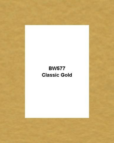 Gold Matboard (Mat Board Center, Crescent 5x7 White Core Picture Mats Mattes Matting for 4x6 Photo + Backing + Bags (100 Kit) (Classic Gold,BW577))