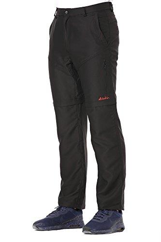 Clothin Men's Zip Off Pants Convertible to Shorts Lightweight Quick-Dry Water-Repellent (Men Pants Zip Off)