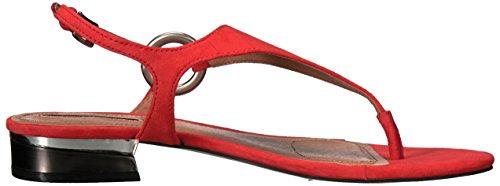 Sandal Lacie Women's Orange Ta Tahari Flat HFqURfxw