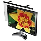 LCD Protective Glare Filter,24'' Widescreen Monitors,BK, Sold as 2 Each