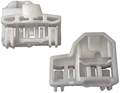 2 X alzacristalli di ricambio lubrificante anteriore sinistro